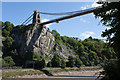 ST5673 : Clifton Suspension Bridge and Cliffs by Doug Lee