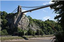 ST5673 : Clifton Suspension Bridge and Cliffs by Doug Lee