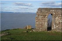 SD4061 : St Patrick's Chapel and Morecambe Bay by Bill Boaden