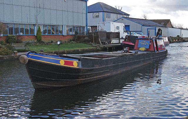 Coal Barge On The Bridgewater Canal 169 Michael Ely Cc By Sa