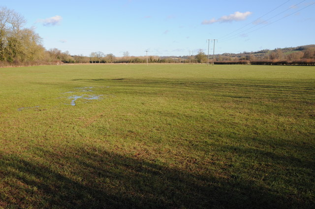 Meadowland in the Frome valley
