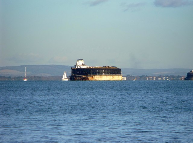 No Man's Land Fort in the Solent