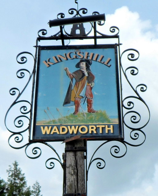 The Kingshill name sign, Dursley