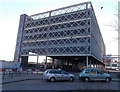 SU1585 : Multi-storey car park at the edge of Swindon bus station by Jaggery