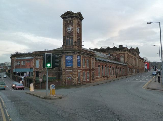 Former Worcester Engine Works