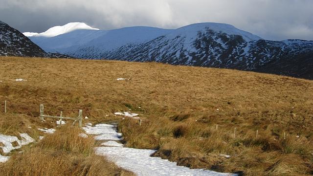 The Callander to Glen Artney road