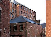 SK3436 : Derby - Brook Street factories by Dave Bevis
