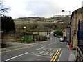 SE0540 : Woodhouse Road descending towards the River Worth by Chris Heaton