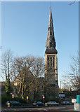 TQ3473 : St Peter, Lordship Lane by Stephen Richards
