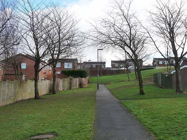 Walkway in Westerhope
