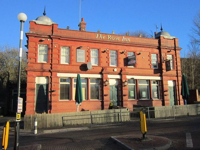 The Rose Inn on Rosehill (road) Rosehill