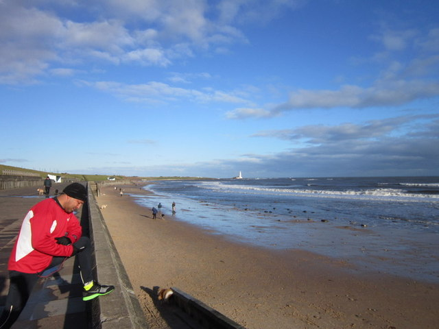 Whitley Sands at Whitley Bay