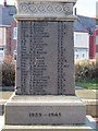 NZ3376 : The War Memorial at Seaton Sluice by Ian S