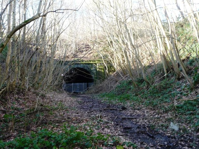 Eastern portal of the eastern tunnel