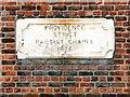 SJ5596 : Baptist Chapel Datestone by David Dixon