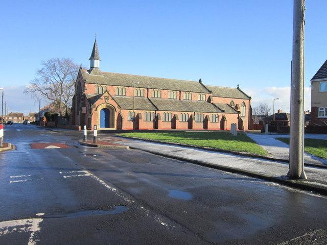 The Parish Church of St John, Sleekburn
