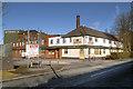 SJ5593 : Burtonwood Brewery Offices, Bold Lane by David Dixon