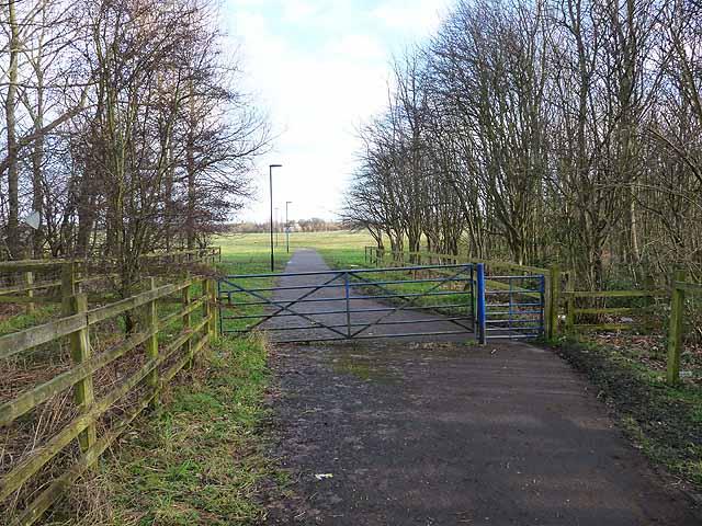 Access onto Newcastle Town Moor