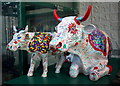 J3473 : 'CowParade' cows, Belfast by Rossographer