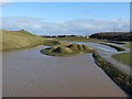 NZ2377 : Hand and forearm, Northumberlandia by Oliver Dixon