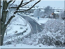 SE1321 : Delf Hill in the snow by Humphrey Bolton