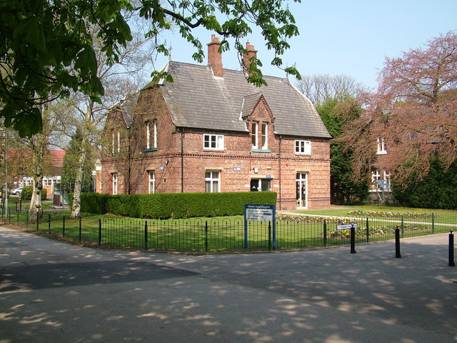 Hospital outbuilding, Cheadle Royal