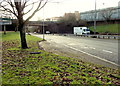 ST3188 : A small layby alongside the A4042, Newport by Jaggery