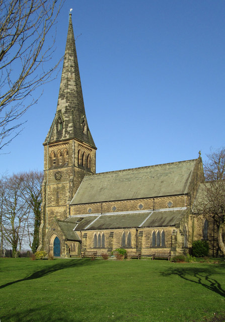 Clay Cross - St Bartholomews Church