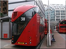 TQ2879 : The Boris Bus comes into Victoria Bus Station by David Anstiss