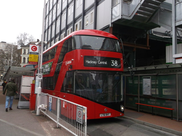 Boris Bus at Stand D, Victoria Bus Station