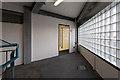 SU4416 : Stairway of multi-storey car park, Wide Lane by Peter Facey