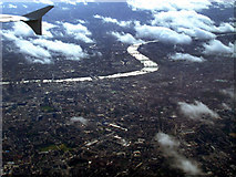 TQ3283 : London and the Thames from the air by Thomas Nugent