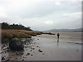 SD3279 : Walking by the Leven estuary by Karl and Ali