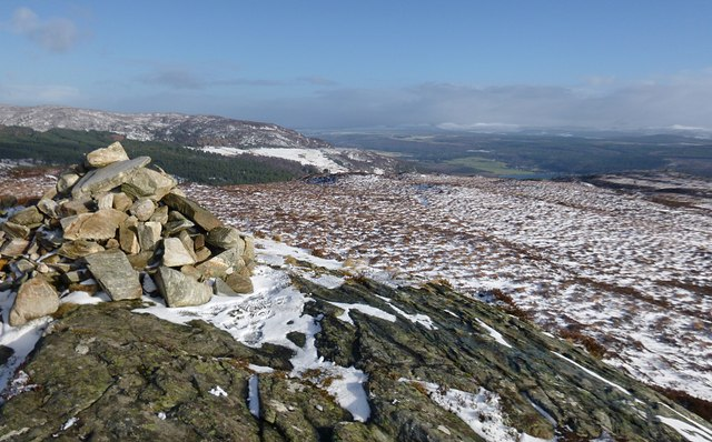 Summit of Carn na Leitire