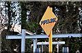 "J4482 : ""Pipeline"" sign, Seahill by Albert Bridge"