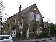 TQ3385 : St Matthias Church Hall, Stoke Newington by David Anstiss