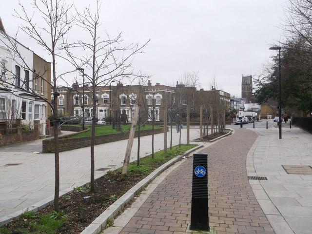 Path to Wordsworth Road, Stoke Newington
