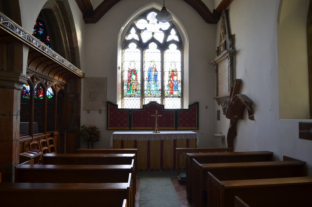 Lady Chapel, St Michael & All Angels' church, Marden