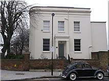 TQ3385 : No154 and No156 Albion Road, Stoke Newington by David Anstiss