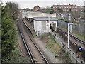 TQ1975 : North Sheen railway station, London by Nigel Thompson