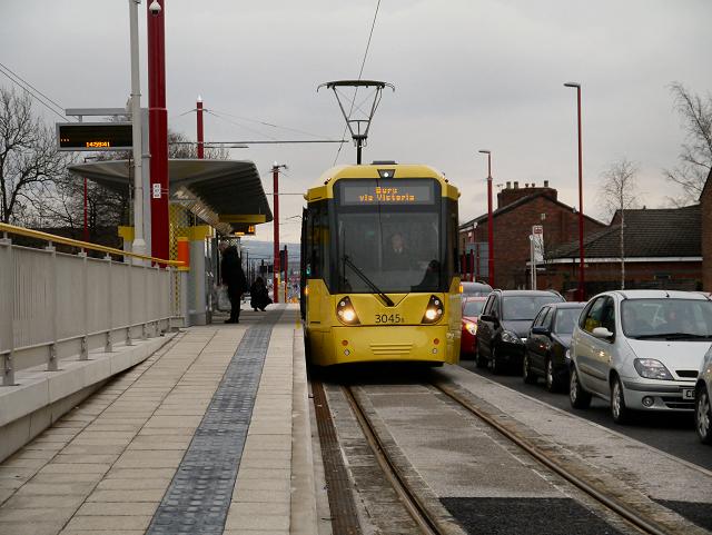 Droylsden Metrolink Station