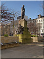SJ8498 : Piccadilly Gardens, Monument to Sir Robert Peel by David Dixon