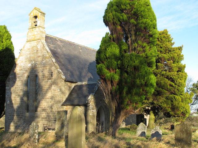 Church of All Saints, Muggleswick