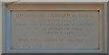 TQ3141 : Plaque, John Flamsteed Hall by Ian Capper