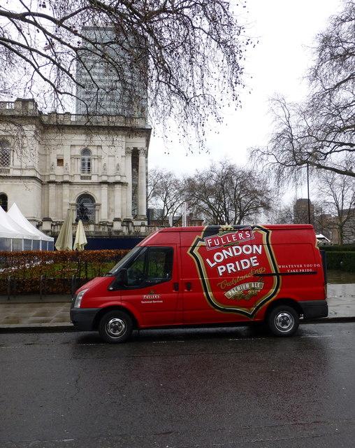 London Pride Van Atterbury Street, London