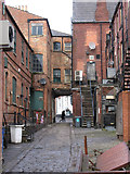 SE3320 : Wakefield - White Horse Yard by Dave Bevis