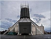 SJ3590 : Liverpool Metropolitan Cathedral by William Starkey