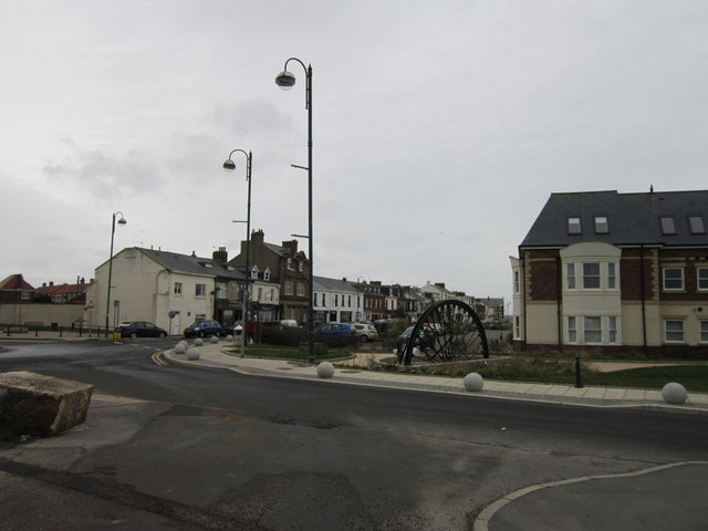 Houses on North Terrace, Seaham