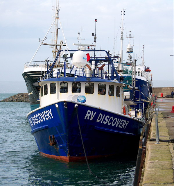The 'RV Discovery' at Bangor