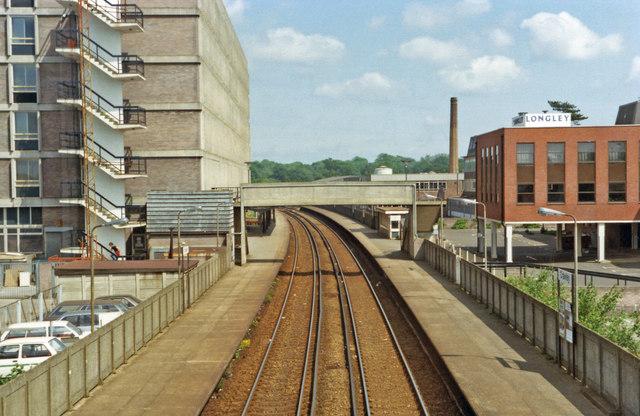 Crawley station, 1983